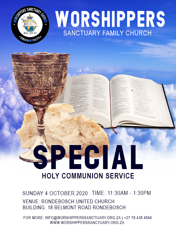 You are currently viewing Special Holy Communion Service